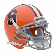 Syracuse Orangemen Schutt Authentic Mini Helmet