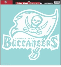 Tampa Bay Buccaneers 18 x 18 Die-Cut Decal