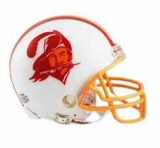 Tampa Bay Buccaneers 1976-96 Throwback Replica Mini Helmet
