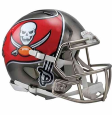 Tampa Bay Buccaneers 2014 Revolution Speed Riddell Authentic Helmet