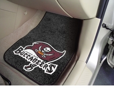 Tampa Bay Buccaneers Car Mats 2 Piece Front Set