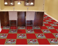 "Tampa Bay Buccaneers Carpet Tiles - 20 18"" x 18"" Tiles"