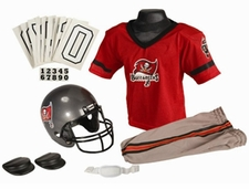 Tampa Bay Buccaneers Deluxe Youth / Kids Football Uniform Set