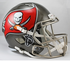 Tampa Bay Buccaneers Full-Size Deluxe Replica Speed Helmet
