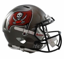 Tampa Bay Buccaneers 1997-2013 Revolution Speed Riddell Authentic Helmet