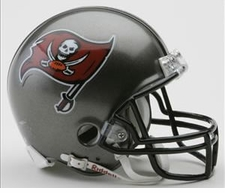 Tampa Bay Buccaneers 1997-2013 Riddell Replica Mini Helmet