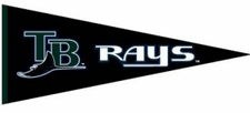 Tampa Bay Devil Rays Traditions Wool Pennant