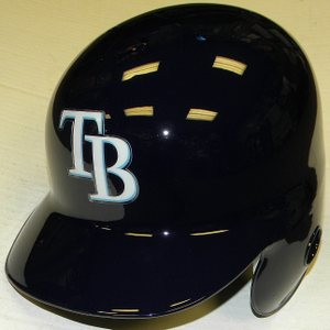 Tampa Bay Rays Left Flap Rawlings Authentic Batting Helmet