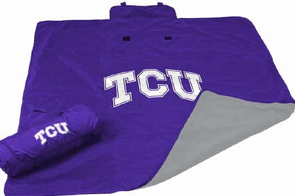 TCU Horned Frogs All Weather Blanket