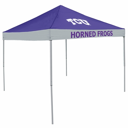 TCU Horned Frogs Economy 2-Logo Logo Canopy Tailgate Tent
