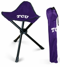 TCU Horned Frogs Folding Stool