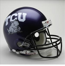 TCU Horned Frogs Riddell Pro Line Authentic Helmet