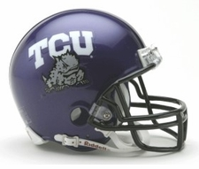 TCU Horned Frogs Riddell Replica Mini Helmet
