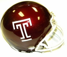 Temple Owls Riddell Replica Mini Helmet