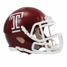 Temple Owls Riddell Speed Mini Helmet