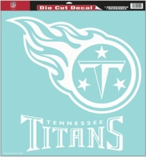 Tennessee Titans 18 x 18 Die-Cut Decal