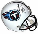 Tennessee Titans Autographed Football Gear