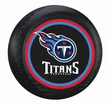 Tennessee Titans Black Standard Spare Tire Cover