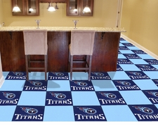 "Tennessee Titans Carpet Tiles - 20 18"" x 18"" Tiles"