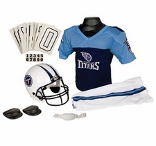 Tennessee Titans Deluxe Youth / Kids Football Uniform Set
