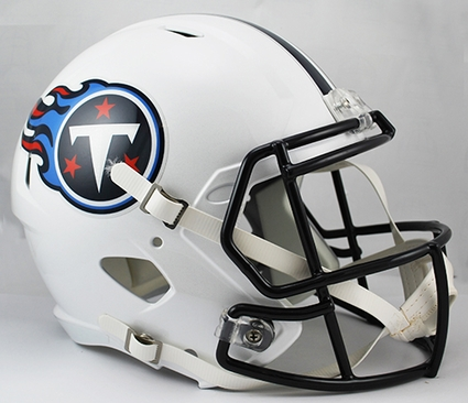 Tennessee Titans Full-Size Deluxe Replica Speed Helmet