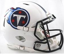 Tennessee Titans Revolution Speed Riddell Authentic Helmet