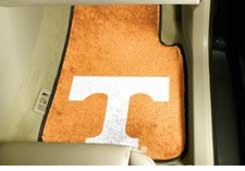 Tennessee Volunteers 2-Piece Carpeted Car Mats Front Set