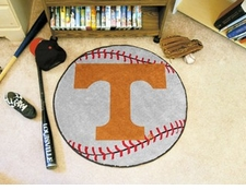 "Tennessee Volunteers 27"" Baseball Floor Mat"