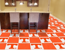 Tennessee Volunteers Carpet Tiles - 20 18x18 Square Tiles