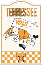 Tennessee Volunteers Nostalgic Metal Sign