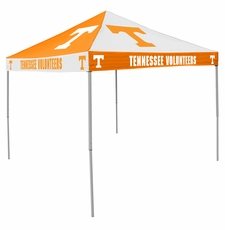 Tennessee Volunteers Orange / White Checkerboard Logo Canopy Tailgate Tent