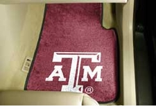 Texas A&M Aggies 2-Piece Carpeted Car Mats Front Set