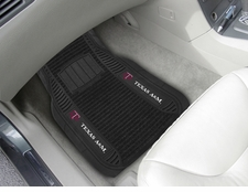 Texas A&M Aggies 2-Piece Deluxe Car Mats