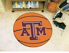 "Texas A&M Aggies 27"" Basketball Floor Mat"