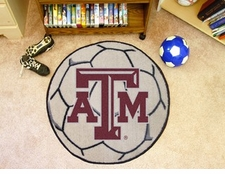 "Texas A&M Aggies 27"" Soccer Ball Floor Mat"