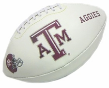 Texas A&M Aggies Full Size Signature Embroidered Football