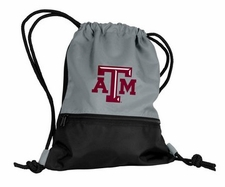 Texas A&M Aggies Gray String Pack / Backpack