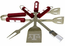 Texas A&M Aggies Grill BBQ Utensil Set