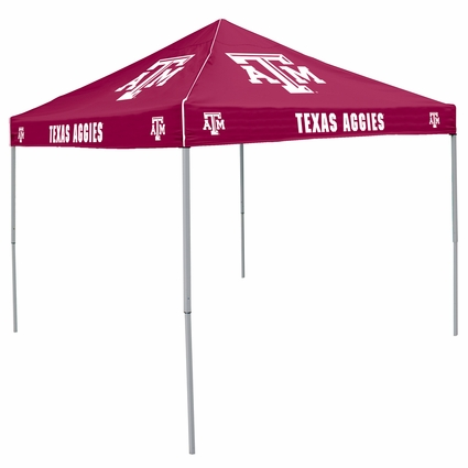 Texas A/M Aggies Maroon Logo Canopy Tailgate Tent