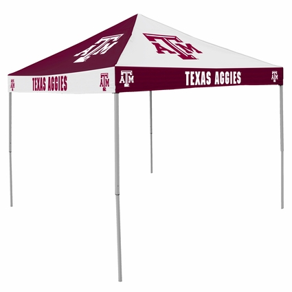 Texas A/M Aggies Maroon / White Checkerboard Logo Canopy Tailgate Tent
