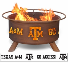 Texas A&M Aggies Outdoor Fire Pit