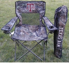Texas A&M Aggies Realtree Camo Mesh Chair