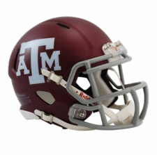 Texas A&M Aggies Red Riddell Speed Mini Helmet