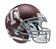 Texas A&M Aggies Red Schutt XP Authentic Helmet