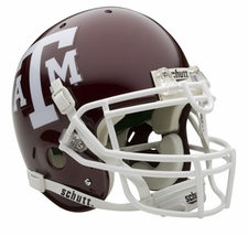 Texas A&M Aggies Schutt Authentic Full Size Helmet