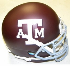 Texas A&M Aggies Schutt XP Authentic Mini Helmet