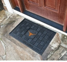 Texas Longhorns 19x30 Medallion Door Mat