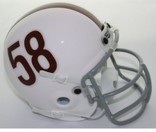 Texas Longhorns 1958-60 Schutt Throwback Mini Helmet