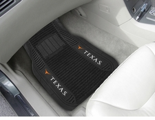 Texas Longhorns 2-Piece Deluxe Car Mats
