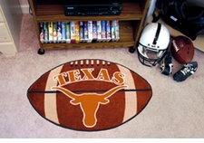 "Texas Longhorns 22""x35"" Football Floor Mat"
